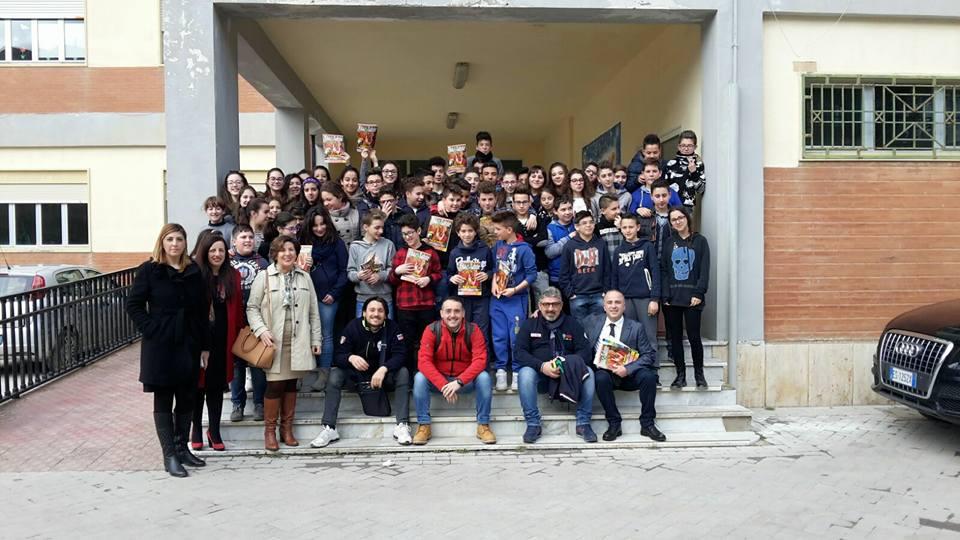 Corso di BLS-D alla Scuola Giovanni XXIII a Marianopoli